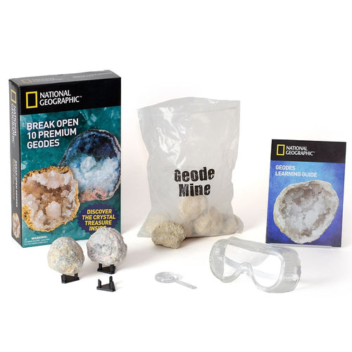 Image of National Geographic World's Best Geode Kit - 10 Geodes