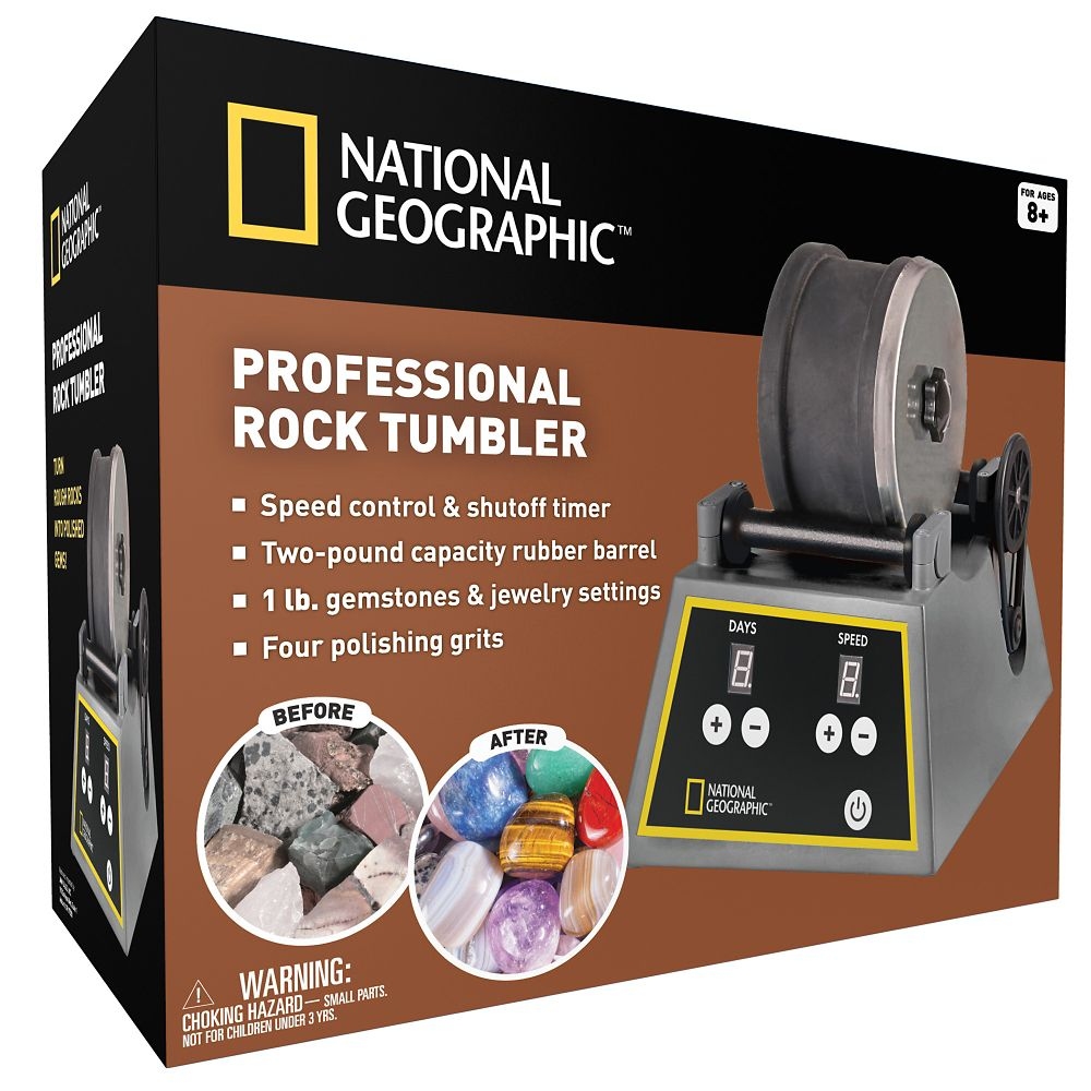 National Geographic Rock Tumbler Shop National Geographic