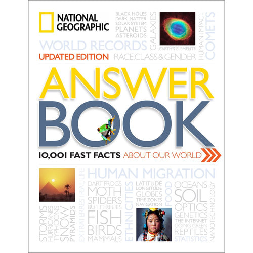 Image of National Geographic Answer Book, Hardcover