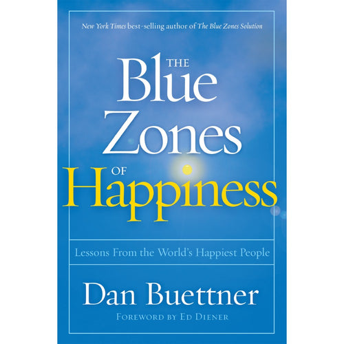Image of The Blue Zones of Happiness Softcover