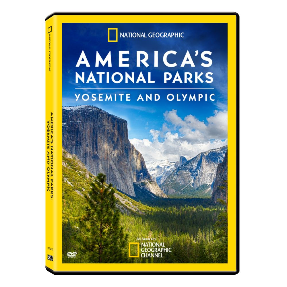 aaaf3ac3d America's National Parks: Yosemite & Olympic DVD | Shop National Geographic