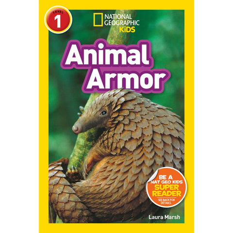 National Geographic Kids Readers: Animal Armor