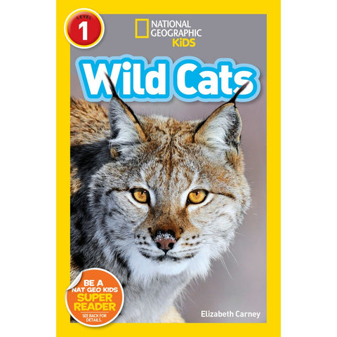 National Geographic Readers: Wild Cats