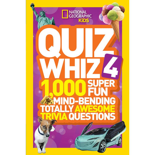 Image of National Geographic Kids Quiz Whiz 4