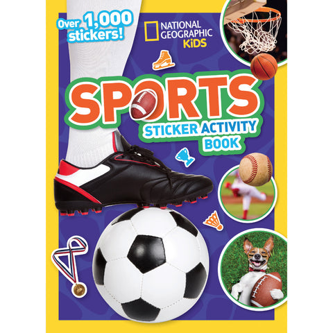 Sports Sticker Activity Book
