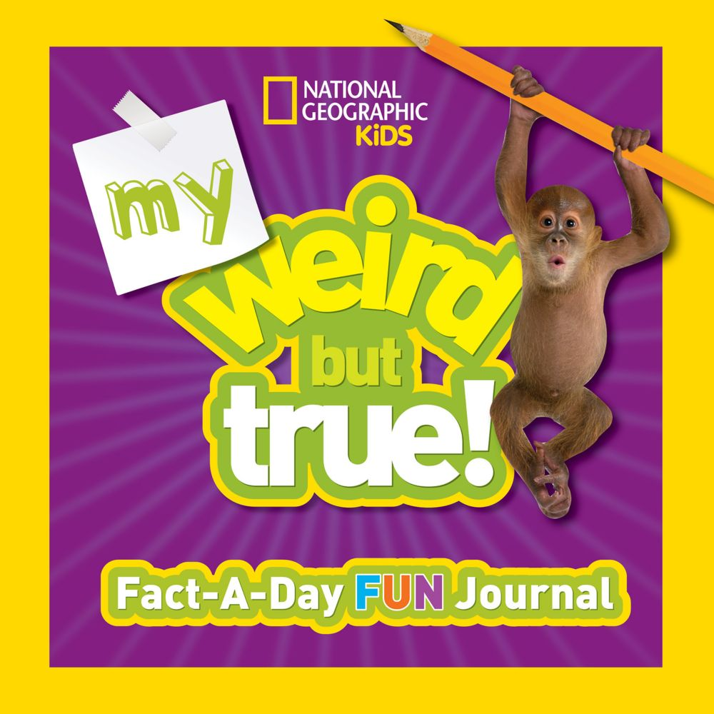 dded0518f My Weird But True Fact-a-Day Fun Journal | Shop National Geographic