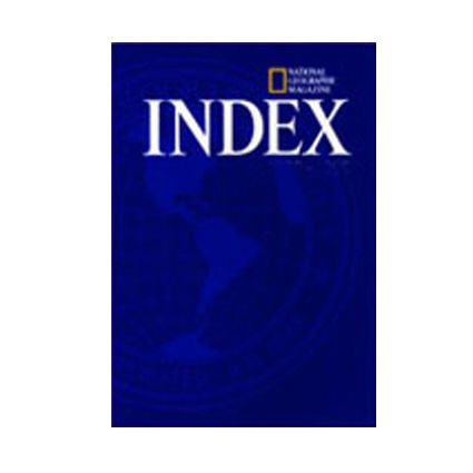 National Geographic 2009 Annual Index