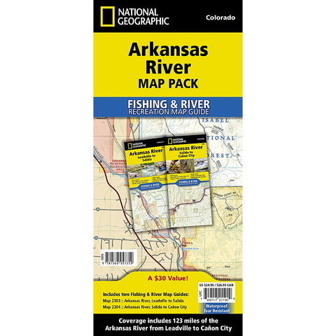 Akransas River [Map Pack Bundle] Trail Maps