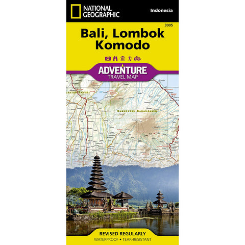 Bali, Lombok, and Komodo [Indonesia] Adventure Map