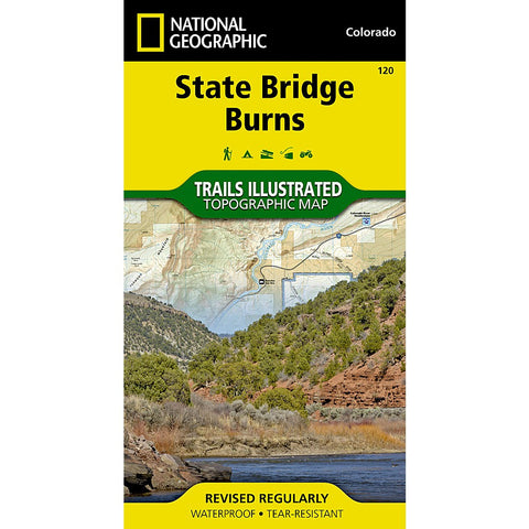 State Bridge, Burns Trail Map (#120)