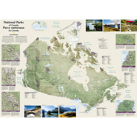 Canada National Parks Map
