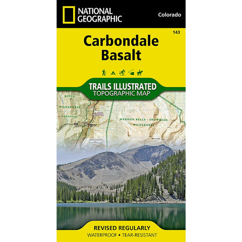 Carbondale, Basalt Trail Map (#143)