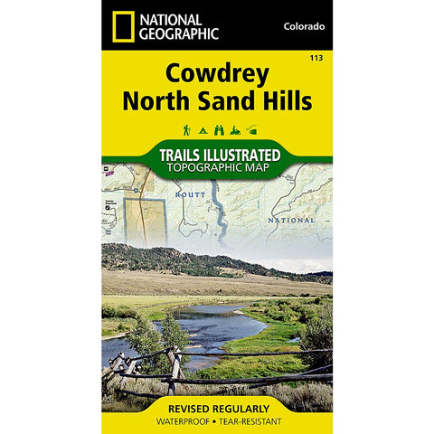 Cowdrey, North Sand Hills Trail Map (#113)