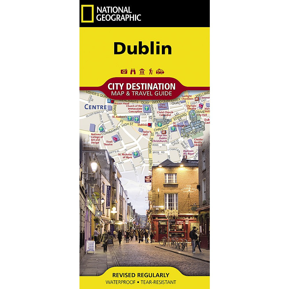 City Map Of Dublin Ireland.Dublin City Destination Map