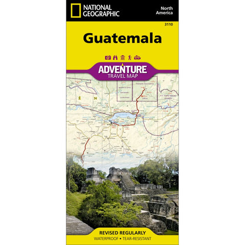 Guatemala Adventure Map