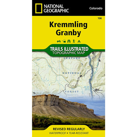 Kremmling, Granby Trail Map (#106)