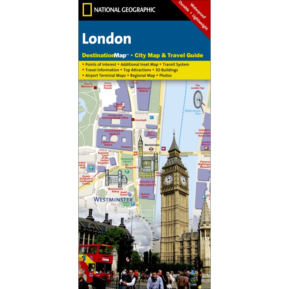 London Points Of Interest Map.London City Destination Map