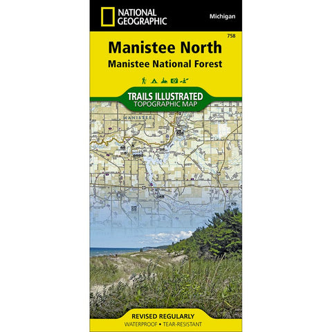 Manistee North [Manistee National Forest] Trail Map (#758)