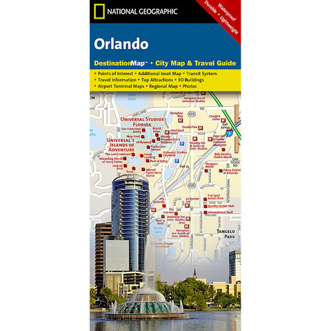 Orlando City Destination Map