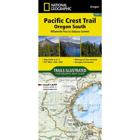 Pacific Crest Trail, Oregon South [Willamette Pass to Siskiyou Summit]