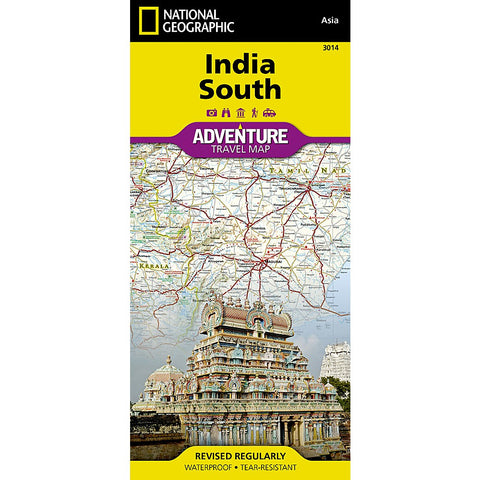 India South Adventure Map