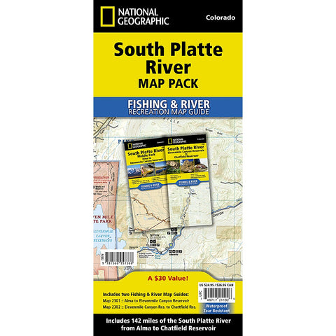 South Platte River [Map Pack Bundle] Trail Maps