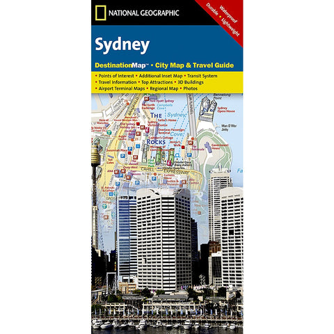 Sydney City Destination Map
