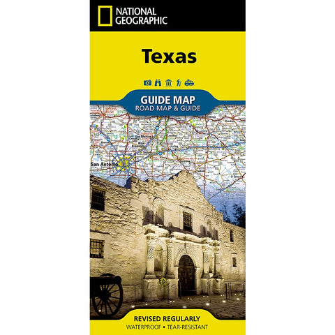 Texas Guide Map