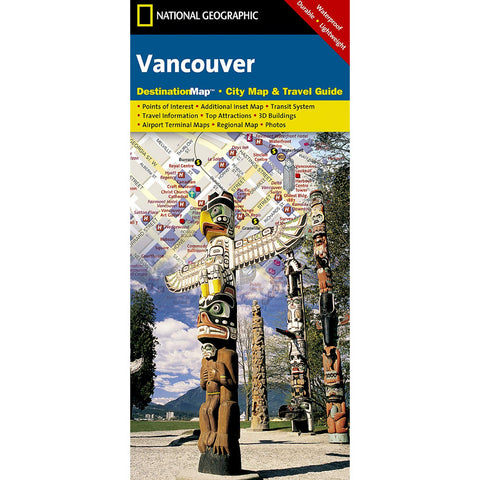 Vancouver City Destination Map
