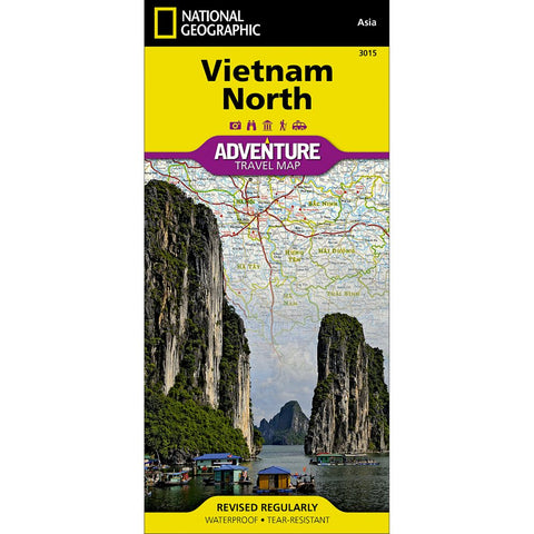 Vietnam North Adventure Map