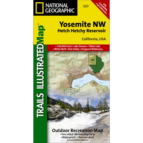 Yosemite National Park NW - Hetch Hetchy Reservoir (#307)