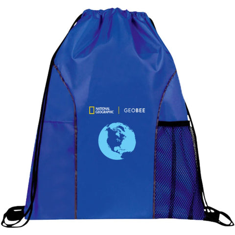 National Geographic Geo Bee Drawstring Backpack