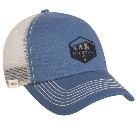 National Geographic Rocky Mountain Trucker Hat
