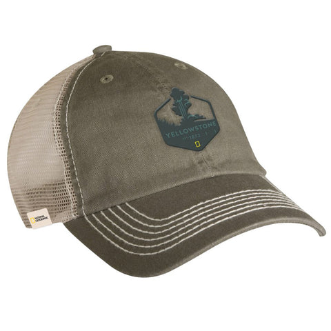 National Geographic Yellowstone Trucker Hat