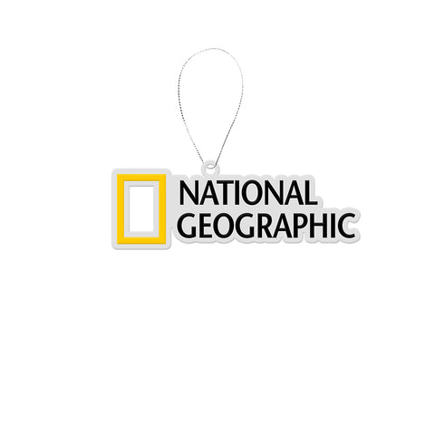 National Geographic Logo Acrylic Ornament