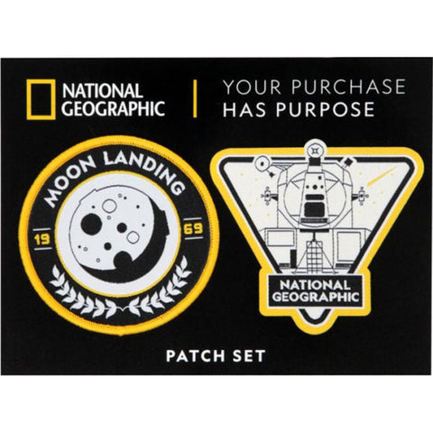 National Geographic Moon Patch Set