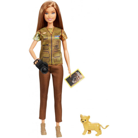 Barbie Photojournalist Doll