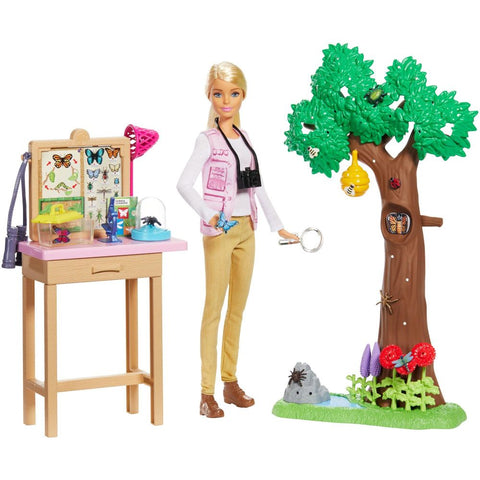 Barbie Entomologist Playset