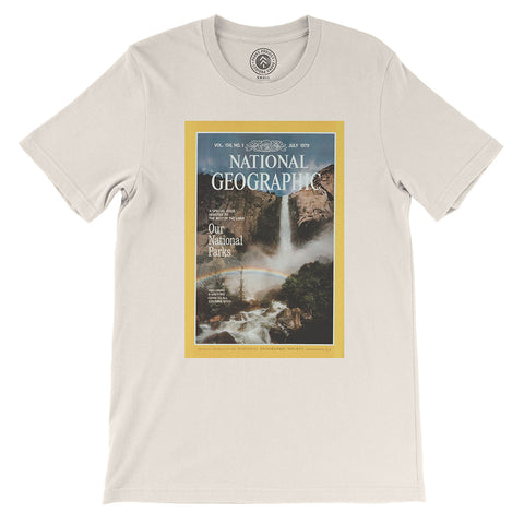National Geographic Vintage Cover T-shirt