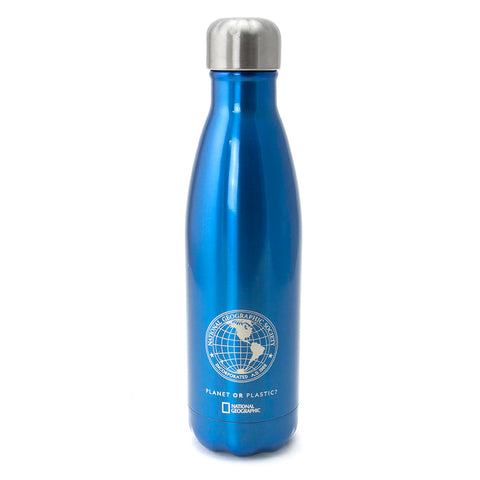 National Geographic Globe S'well Bottle - Royal Blue