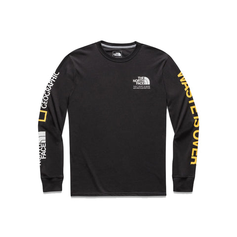 The North Face Find the Source Limited Edition Men's Black Long Sleeve Tee
