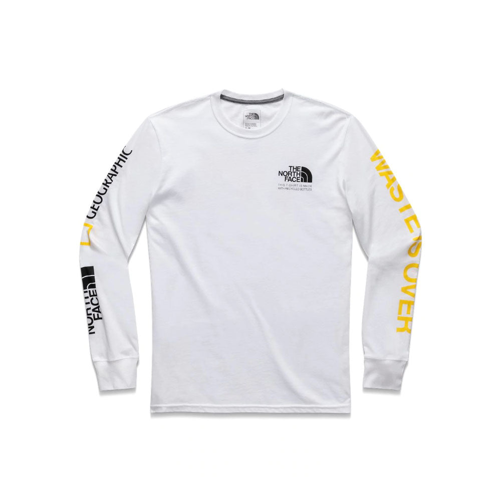 The North Face Find the Source Limited Edition Men's White Long Sleeve Tee
