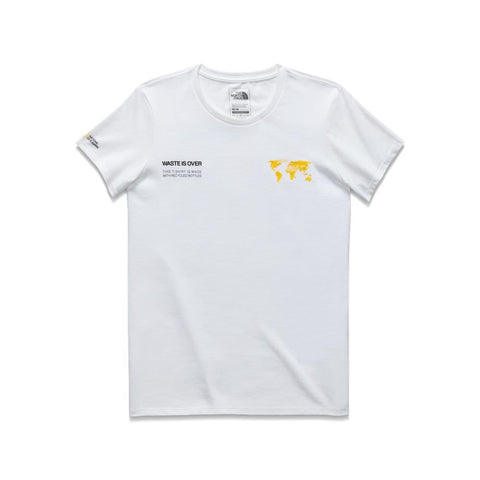 The North Face Find the Source Limited Edition Women's  White Sleeve Tee