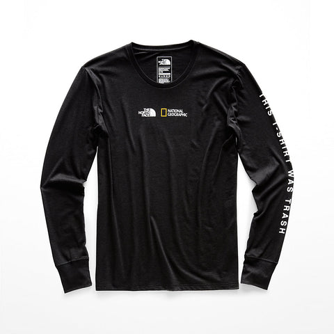 The North Face Bottle Source Limited Edition Women's Black Long Sleeve Tee