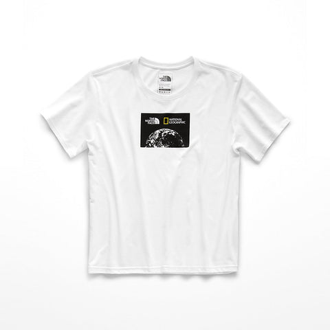 06bacb09 The North Face Bottle Source Limited Edition Women's White Short-Sleeve Tee
