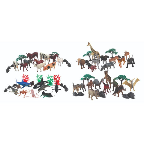 Eighty-Piece Wenno Animal Playset Window Box from National Geographic