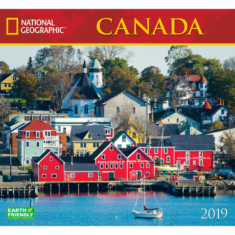 National Geographic Canada 2019 Calendar