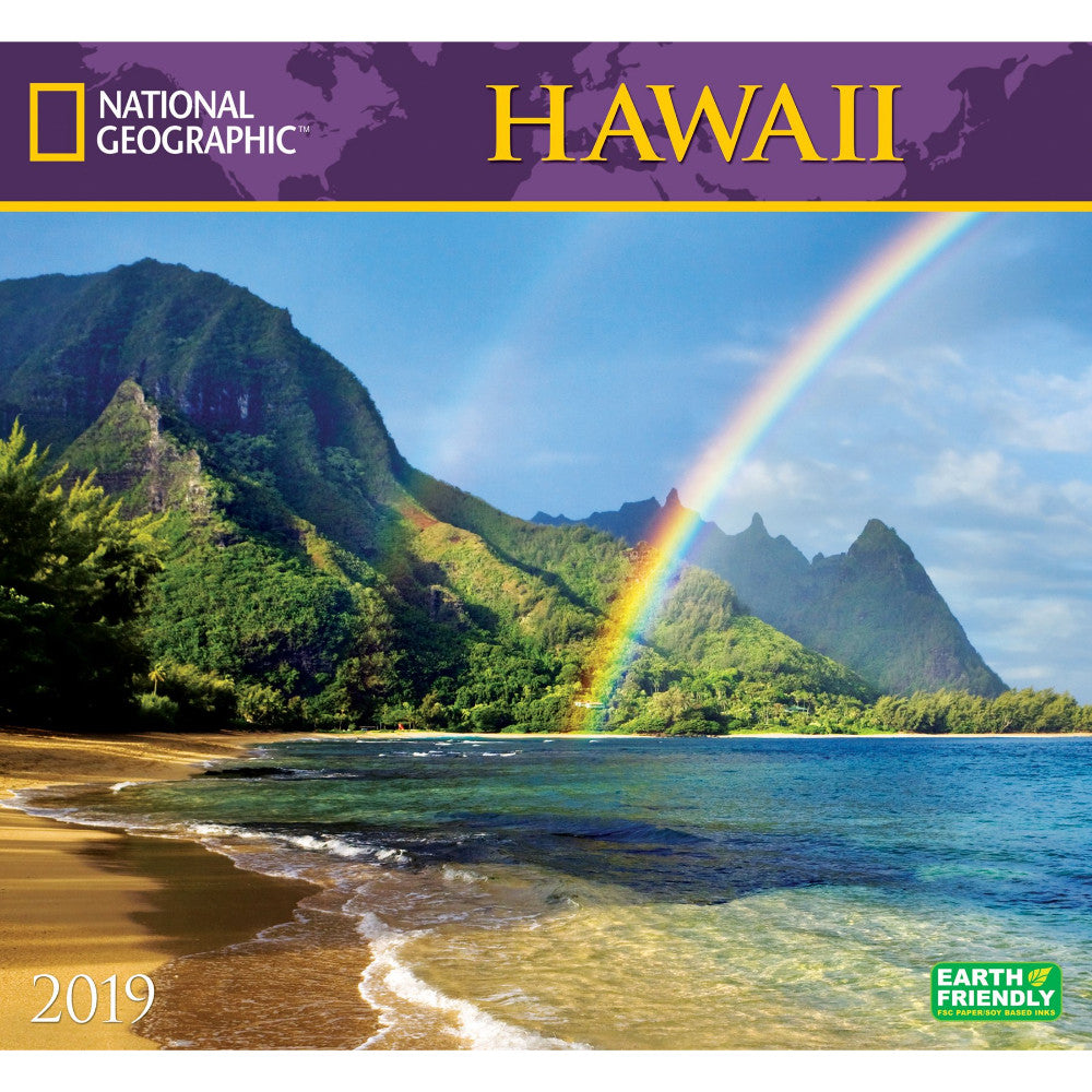 National Geographic Hawaii 2019 Calendar Shop National Geographic