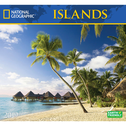 National Geographic Islands 2019 Calendar