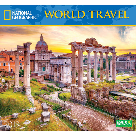 National Geographic World Travel 2019 Calendar